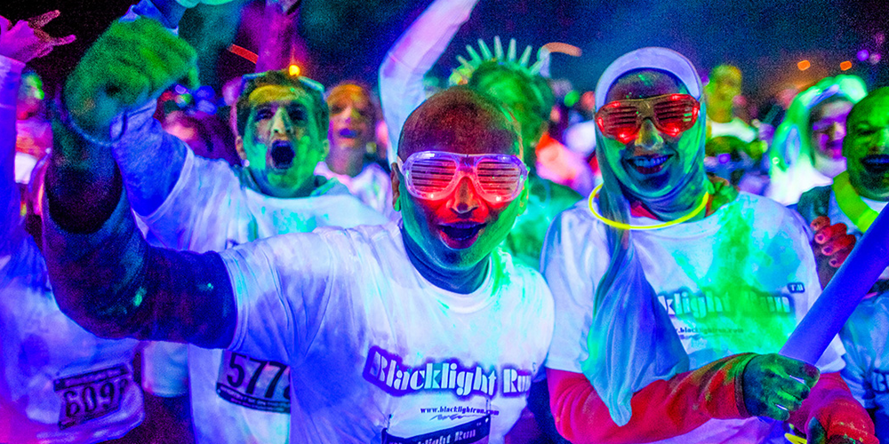 Lire la suite : Au cœur de la Black Light Run de Chicago