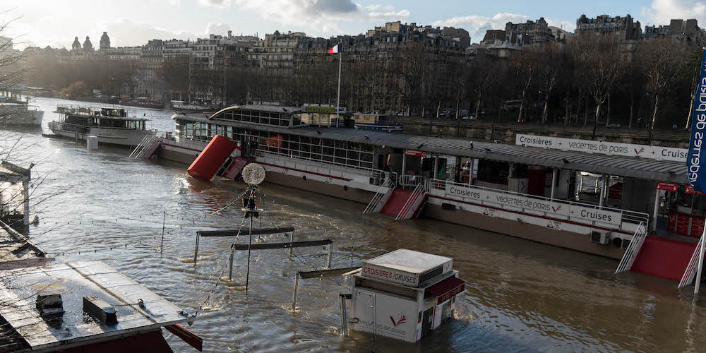 Lire la suite : [EN PHOTOS] La Seine déborde à Paris
