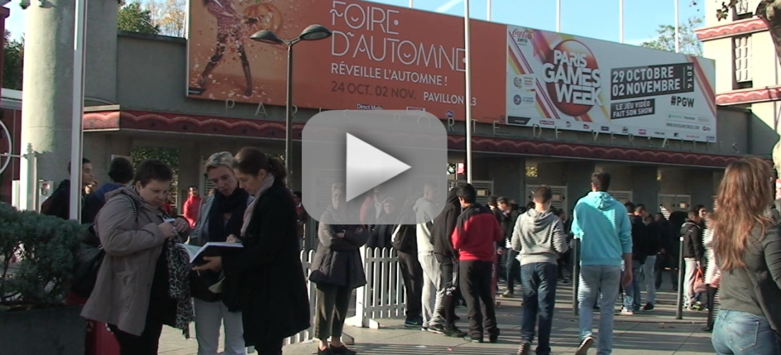 Paris Games Week 2014 - Illustration video